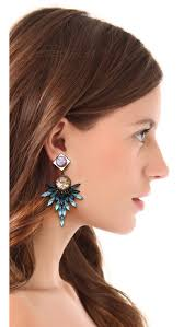dannijo earrings dannijo odessa earrings shopbop