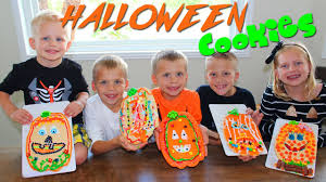 Decorate Halloween Cookies Giant Halloween Pumpkin Cookies Youtube