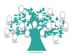 family tree coloring pages family trees and genealogy forms