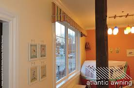 commercial interior awning shed style atlantic awning