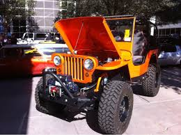 orange jeep cj the jeeps just don u0027t stop sema 2013 photo u0026 image gallery