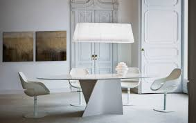 White Marble Desk by Contemporary Table Glass Tempered Glass Marble Elica 2575
