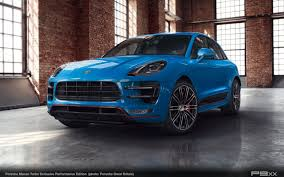 porsche macan turbo 2016 in detail macan turbo exclusive performance edition u2013 p9xx