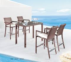 White Patio Furniture Set - outdoor table and chairs set outdoor garden furniture mosaic tiles