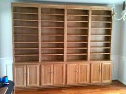custom made stand alone cherry bookcases man cave pinterest