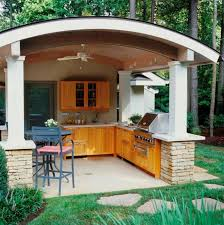 garden kitchen ideas kitchen cabinets materials for outdoor kitchens fresh design pedia
