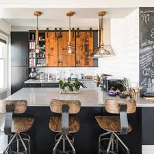 barn door for kitchen cabinets sliding cabinet doors houzz