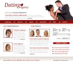 Free Dating Site Templates free website templates with dating theme 1