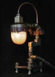 Amazing Lamps Artist Uses Scrap To Create Amazing Lamps With An Old World Feel