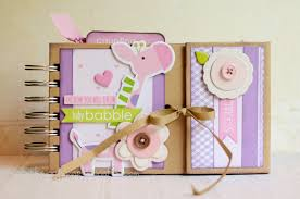 baby girl scrapbook album 5 scrapbooking ideas for beginners on craftsy album minis and