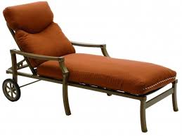 deluxe sunbrella chaise lounge cushions on sale jockey red