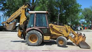 1990 case 580k backhoe item d2433 sold june 11 construc
