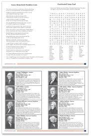 Presidents Of The United States Presidents U0026 U S Government Audio U0026 Printable Book U2013 Rock U0027n Learn