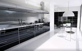 industrial modern kitchen designs luxury modern industrial gloss black white kitchen design ideas