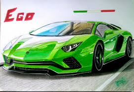 car lamborghini drawing uv cardrawings draw to drive