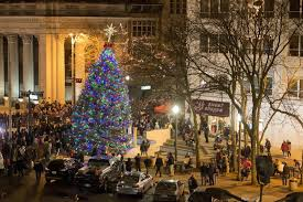 black friday christmas tree joliet festival and parade adds light to black friday the herald