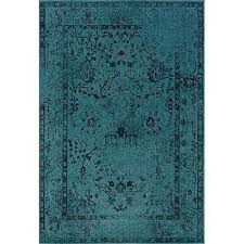Peacock Area Rugs Magnificent Peacock Blue Area Rug Nbacanottes Rugs Ideas At