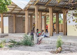 earthquake resistant orphanage is a welcoming ray of hope in haiti