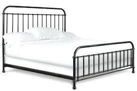 metal bed frame headboard and footboard creative of queen bed