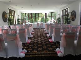 Paper Chair Covers White Chair Covers U0026 Pale Baby Pink Sashes Bron Eifion Country