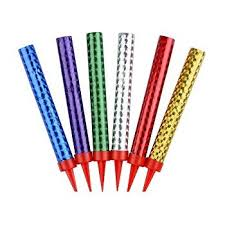 birthday candles new 6 pcs set birthday candles cake candles for