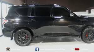 nissan patrol 2016 platinum interior nissan patrol in black glossy youtube