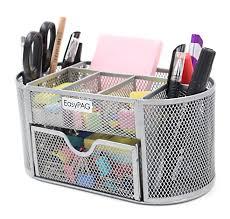 Desk Top Organizer Hutch by Amazon Com Easypag Mesh Office Desk Accessories Organizer 9