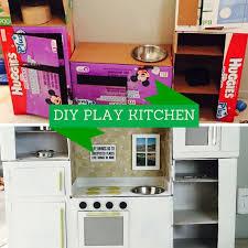diy play kitchen ideas cardboard kitchen ideas cardb on childrens kitchen play set with