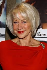 hair styles for over 60 s with thick waivy hair helen mirren short bob hairstyle for women over 60s hairstyles