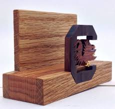 Cool Shaped Business Cards Hand Carved Hand Shaped Wooden Business Card Holder Cardrabbit Com