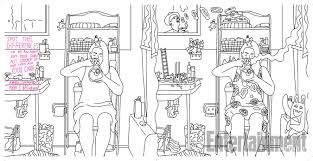 broad city coloring book see the images