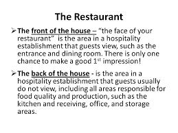 restaurant operations restaurant management risa mccann ppt