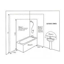 rondo 18sb rondo small bathroom ceiling flush fitting light in