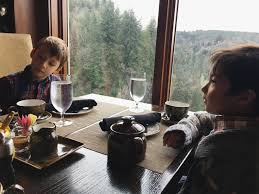 Salish Lodge Dining Room by Holiday Tea At Salish Lodge Is Better If You Bring A Little Guest