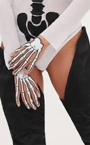 Halloween Skeleton Hands Halloween Two Pack Glitter Skeleton Hand Stickers