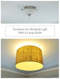 How To Make A Lamp Shade Chandelier Making A Ceiling Light With A Diffuser From A Lamp Shade Young