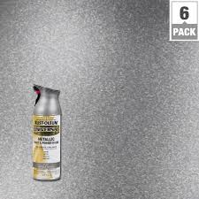 rust oleum specialty 11 oz metallic silver spray paint 1915830