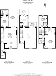 House Plan 1761 Square Feet 57 Ft by 3 Bedroom Terraced House For Sale In Limerston Street London