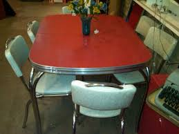 Retro Red Kitchen Chairs - 756 best old 40 50 u0027s table sets u0026 medal chairs images on pinterest
