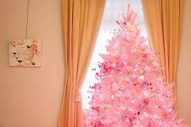 pink christmas tree we ll a pink christmas it lovely