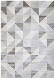 Geometric Area Rug Interior Charming Light Gray And White Geometric Area Rug For