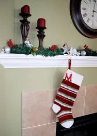 crochet christmas stockings stocking pattern free crochet and