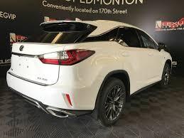 voiture lexus crossover pre owned 2017 lexus rx 350 demo unit f sport series 3 4 door