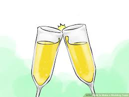 wedding toast how to make a wedding toast 14 steps with pictures wikihow