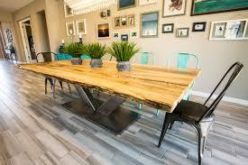 porter dining room set spalted hackberry live edge dining table porter barn wood