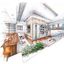 Interior Sketch by 123 Best Desene Arhitectura Images On Pinterest Drawing