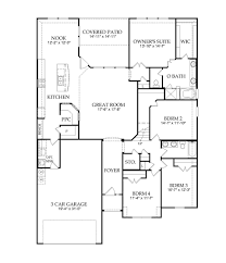 whitland new home plan fort worth tx pulte homes new home
