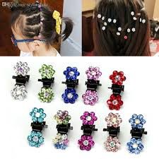wholesale hair accessories wholesale new flower clear diamate wedding bridal prom