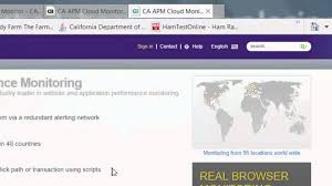 getting started with ca apm cloud monitor from ca technologies
