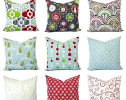 holiday pillow etsy
